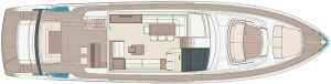 Riva 76' Perseo Super Main deck OPT