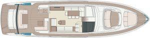 Riva 76' Perseo Super Main deck STD