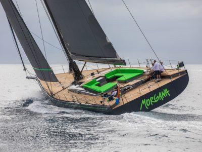 Il Reichel/Pugh Nauta 100 Morgana approda in Mediterraneo