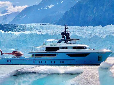 Navigando tra i ghiacci, a bordo del Sanlorenzo 500Exp