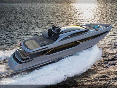 In costruzione il 40m Legacy Line di Falcon Yachts