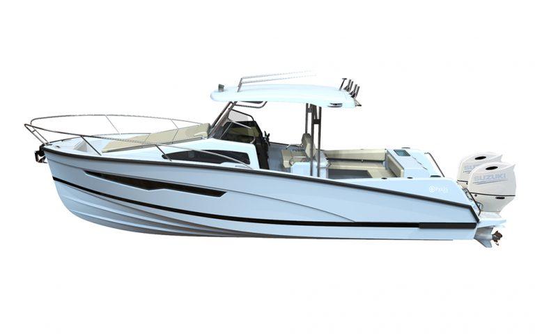 Pyxis 30 Fishing con Suzuki