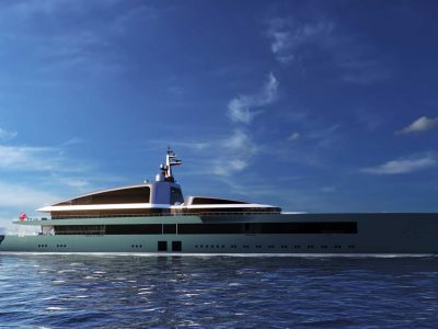 Piredda & Partners presents concept of 110m M/Y NOW