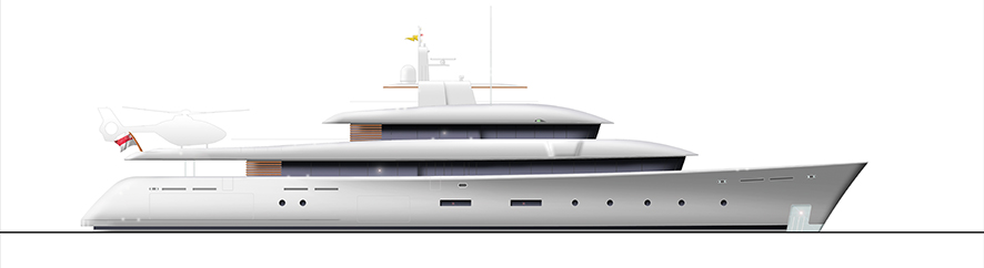 62 m Expedition Yacht