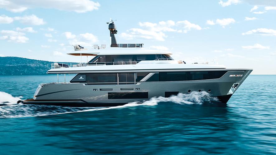 Custom Line Navetta 30 Ferretti Group