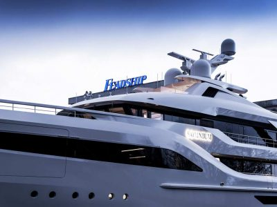 Feadship Somnium close to completion