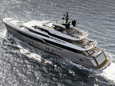 Pronto alla consegna il terzo superyacht Sanlorenzo Alloy