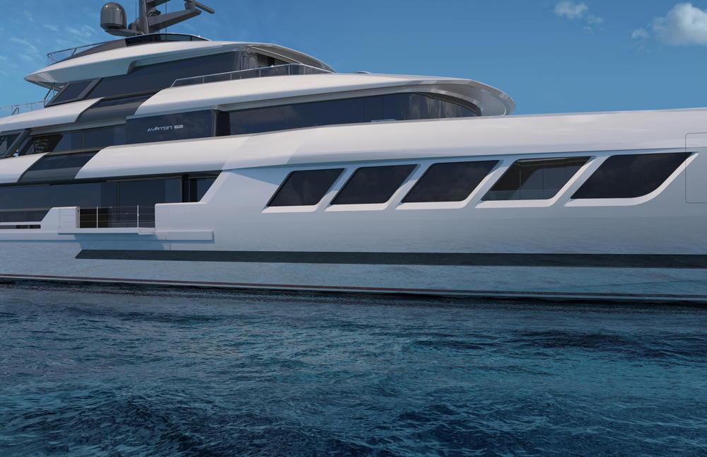 ISA Yachts Ayrton 63m