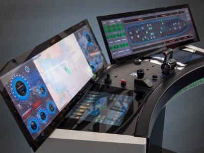 Furuno-Böning AHD 1145 GW, i nuovi monitor da 45 pollici UHD