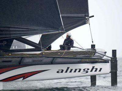 Alinghi si aggiudica il primo evento della nuova classe TF35