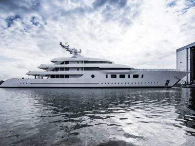 Feadship Bliss, the 95-meter is ready to explore the world
