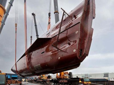 Winch Design & Heesen Announce the Hull Turning of M/Y Sparta