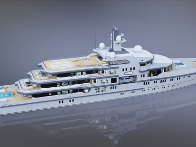 New 90m explore concept by designer Abdulbaki Şenol