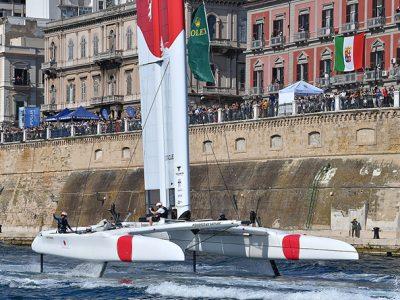 Japan SailGP Team con Checco Bruni vince l'Italy Sail Grand Prix