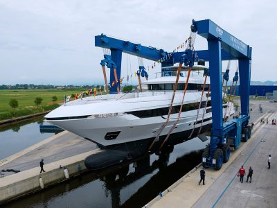Mangusta Oceano 50, varata la nuova ammiraglia