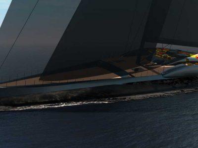 Project Fury, il nuovo concept di superyacht a vela