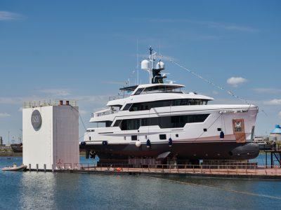 Rosetti Superyachts, varata la prima unità RSY 38m EXP