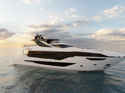 Sunseeker reveals images of new 100 Yacht