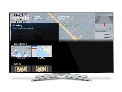 Videoworks MyInfo 3.0, lo yacht sulla SmartTV
