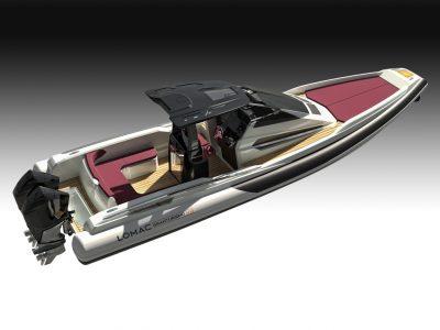 Lomac va al Cannes Yachting Festival con due nuovi rib
