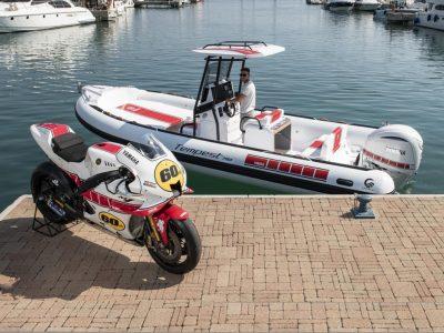A Genova c'è la special edition di Yamaha Motor e Cantieri Capelli