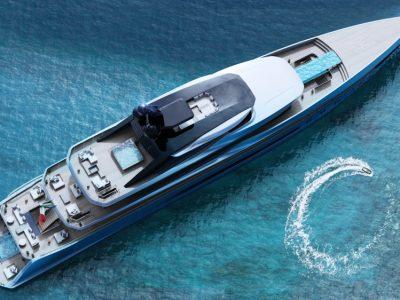 Tankoa T760 Apache, a 76m superyacht concept