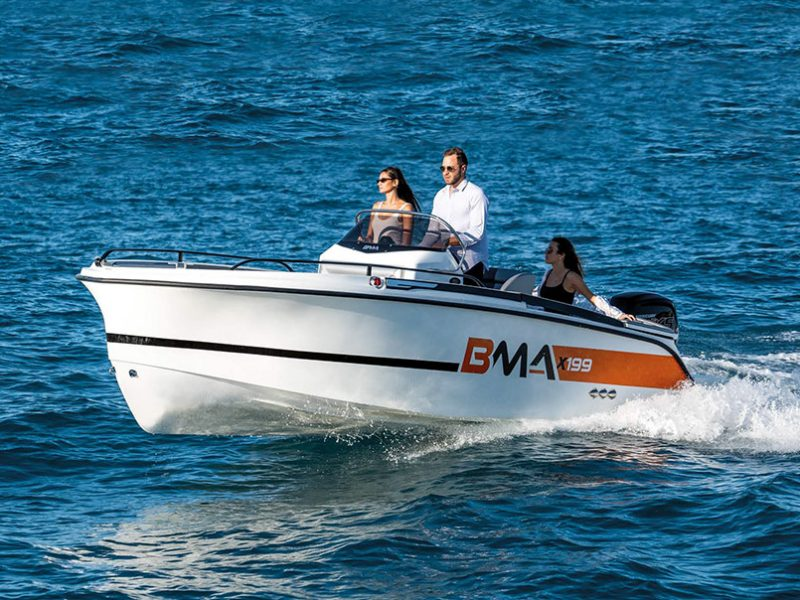 BMA X199, a great little boat