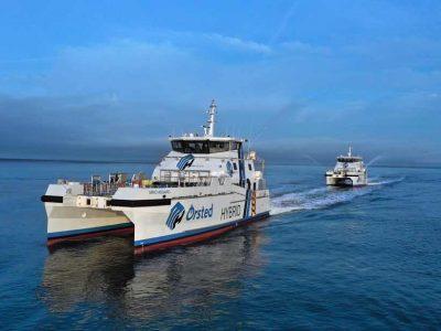 Volvo Penta and Danfoss Editron on board two CTVs