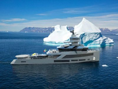 SNO Yachts and ADSB together to build Superyacht Shadow Vessel Nautilus 45