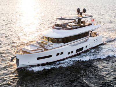 Sirena 68, moving forward