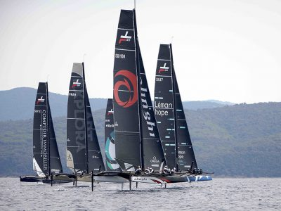 Classe TF35 al Marina di Scarlino: vince Realtime Sailing, seconda Alinghi