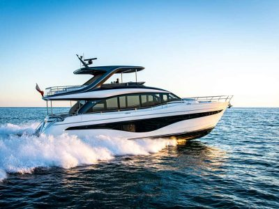 Princess Yachts at the 2021 Cannes Yachting Festival