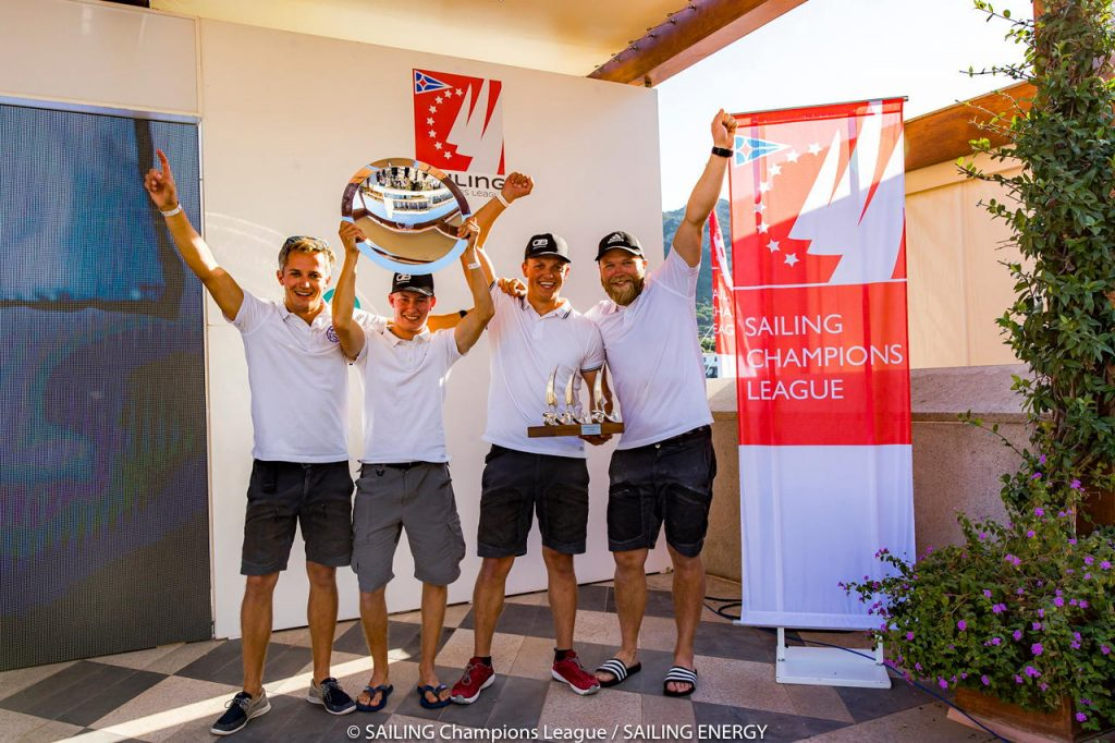 la Sailing Champions League Final Yacht Club Costa Smeralda.